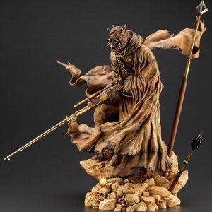 Star Wars Tusken Raider ARTFX PVC Statue 1/7 Scale Barbaric Desert Tribe Artist Series Ver. Kotobukiya UK Star Wars tusken raider scale statues UK Animetal