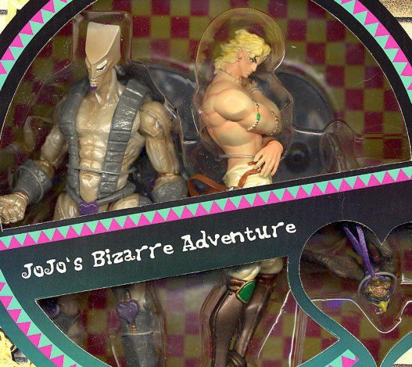 JoJo's Bizarre Adventure Dio and the World Figure Set ARTFX Kotobukiya UK JoJo ARTFX double set vol. 2 jojo anime figures UK animetal jojo rare statues UK