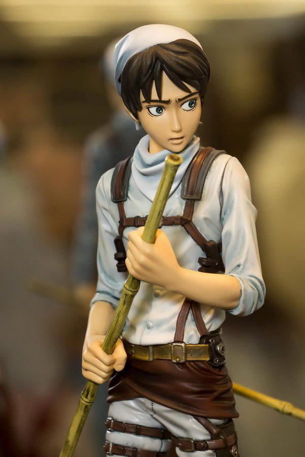 Attack on Titan Eren Figure Cleaner Version Banpresto UK anime figures UK animetal