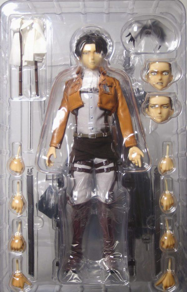 Attack On Titan Levi RAH Figure No.662 First Edition