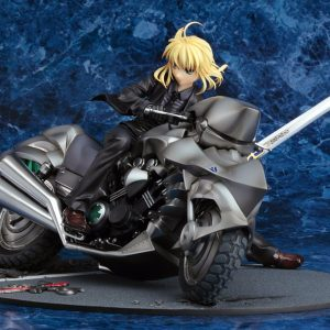 Fate Zero Saber With Bike Figure Good Smile Company 1:8 Scale UK Animetal Fate Zero figures UK fate zero saber figures UK fate anime figures