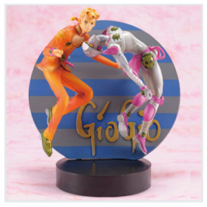 JoJo's Bizarre Adventure Giorno Giovanna & Gold Experience Figure Banpresto Ichiban Kuji Prize A Figure UK JoJo anime figures UK animetal