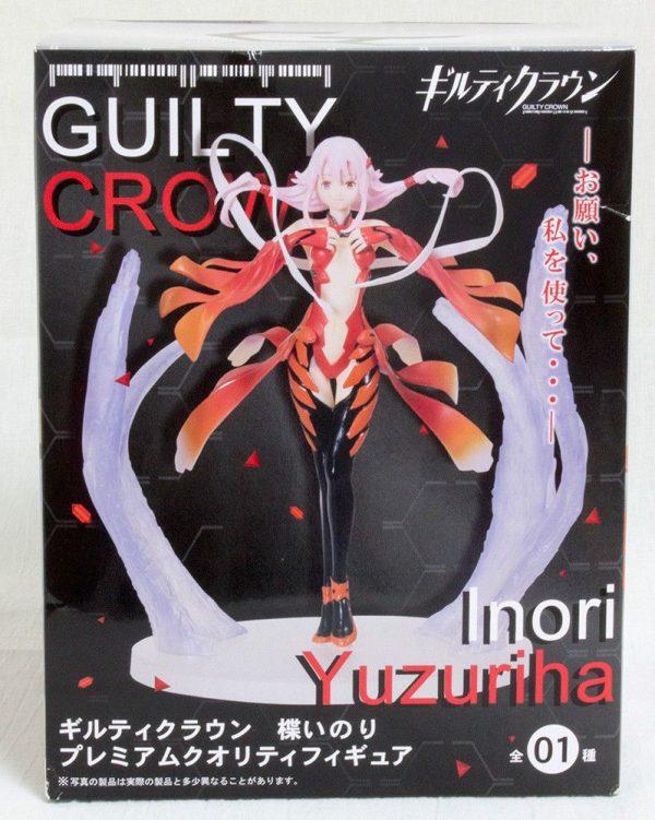 Guilty Crown Yuzuriha Inori Figure Taito UK Guillty Crown Figures UK animetal anime figures