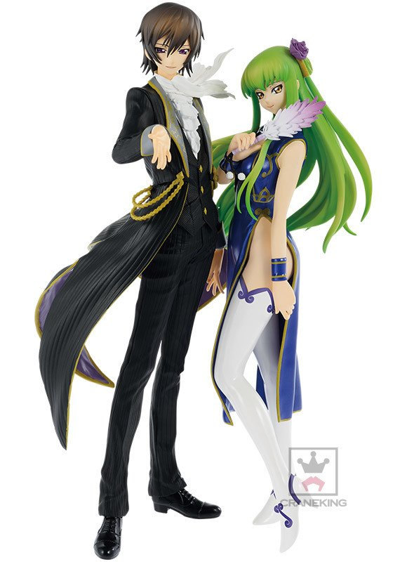 Code Geass Lelouch EXQ Figure Banpresto UK anime figures UK official Licensed Animetal Japan Import