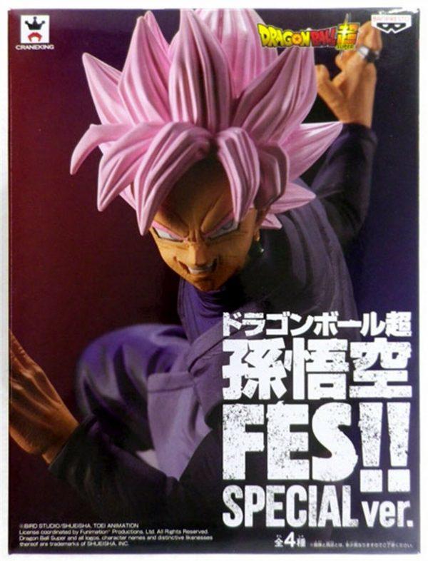 Dragon Ball SS Rose Black Figure anime figues uk animetal