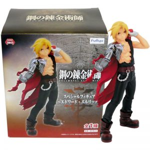 Fullmetal Alchemist Edward Elric Figure UK Furyu anime figures UK official Licensed Animetal Japan Import