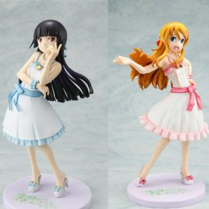Oreimo Reunion Figure Set SEGA Kirino Kuroneko Ore No Imouto figures UK animetal anime figures UK