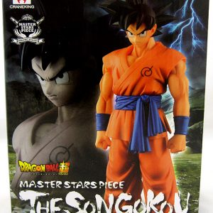 Dragon Ball Z Son Goku Figure Banpresto Master Stars Piece
