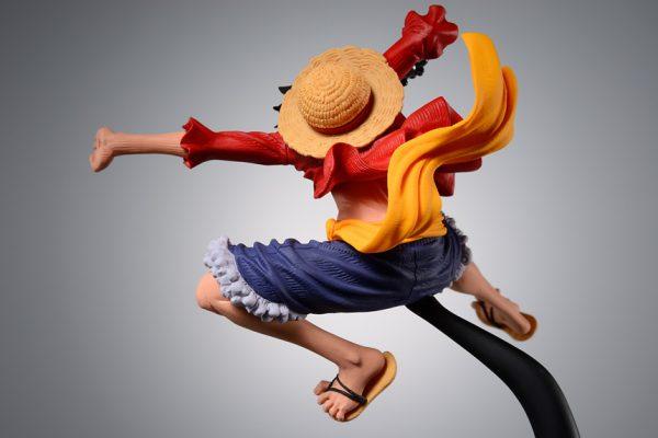 One Piece Monkey D Luffy Figure Banpresto animetal anime figures UK
