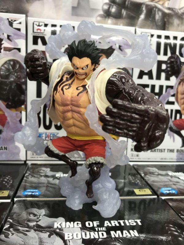One Piece Monkey D Luffy Figure The Bound Man UK Banpresto One Piece Figures UK Animetal Anime Figures UK Luffy Figures UK FREE UK Delivery Monkey D Luffy