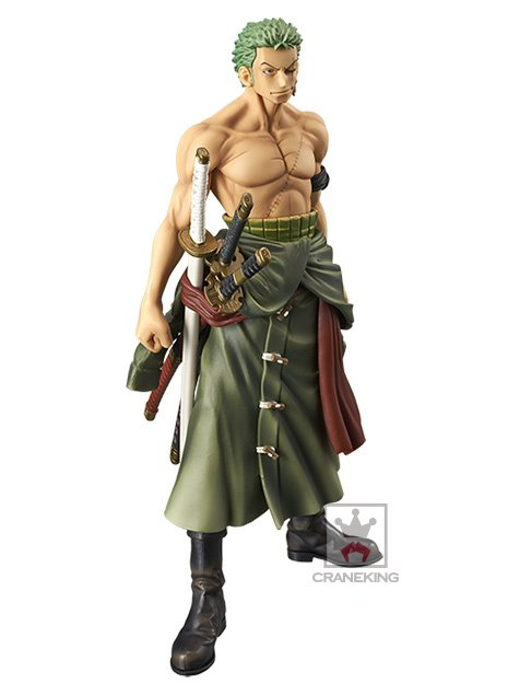 One Piece Roronoa Zoro Figure Banpresto UK Animetal anime figures UK