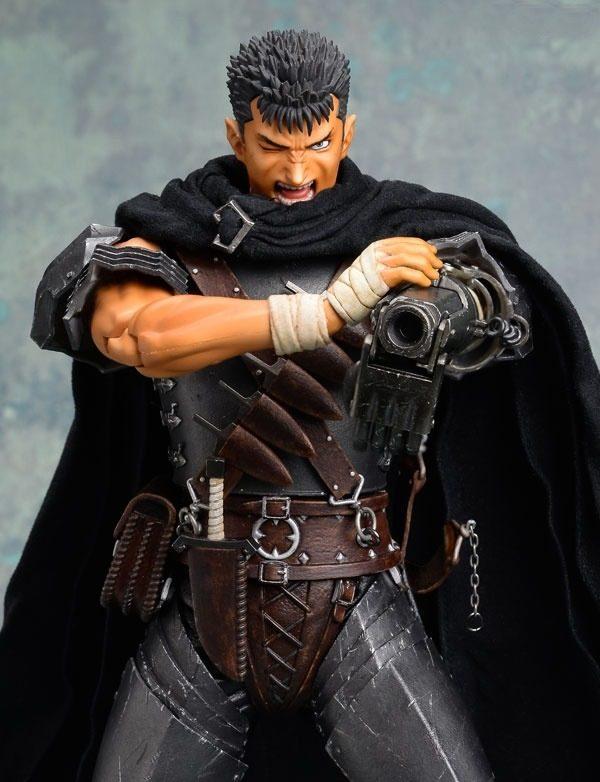 Berserk Guts Real Action Heroes Figure No. 704 The Black Swordsman 1:6 Scale RAH Medicom Toy animetal anime figures UK