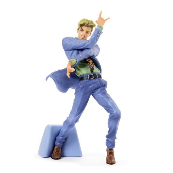 Jos Bizarre Adventure Yoshikage Kira Figure Banpresto Jojos Figure Gallery 5 anime figures UK animetal