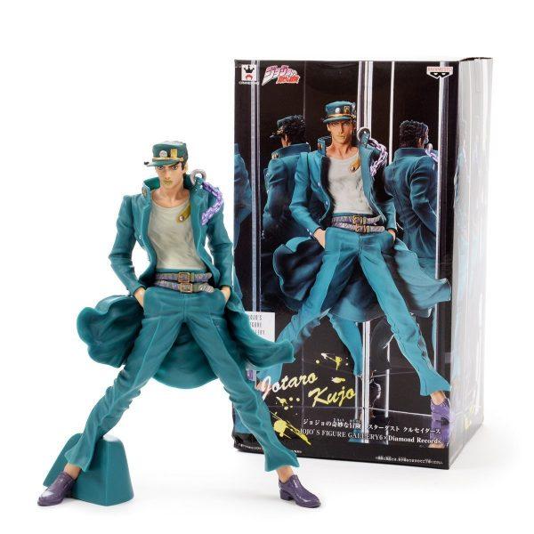 JoJos Bizarre Adventure Jotaro Kujo Figure Banpresto Jojos figure gallery 6 Diamond Records Jojo anime figures animetal UK