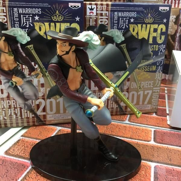 One Piece Mihawk Figure Banpresto animetal anime figures UK