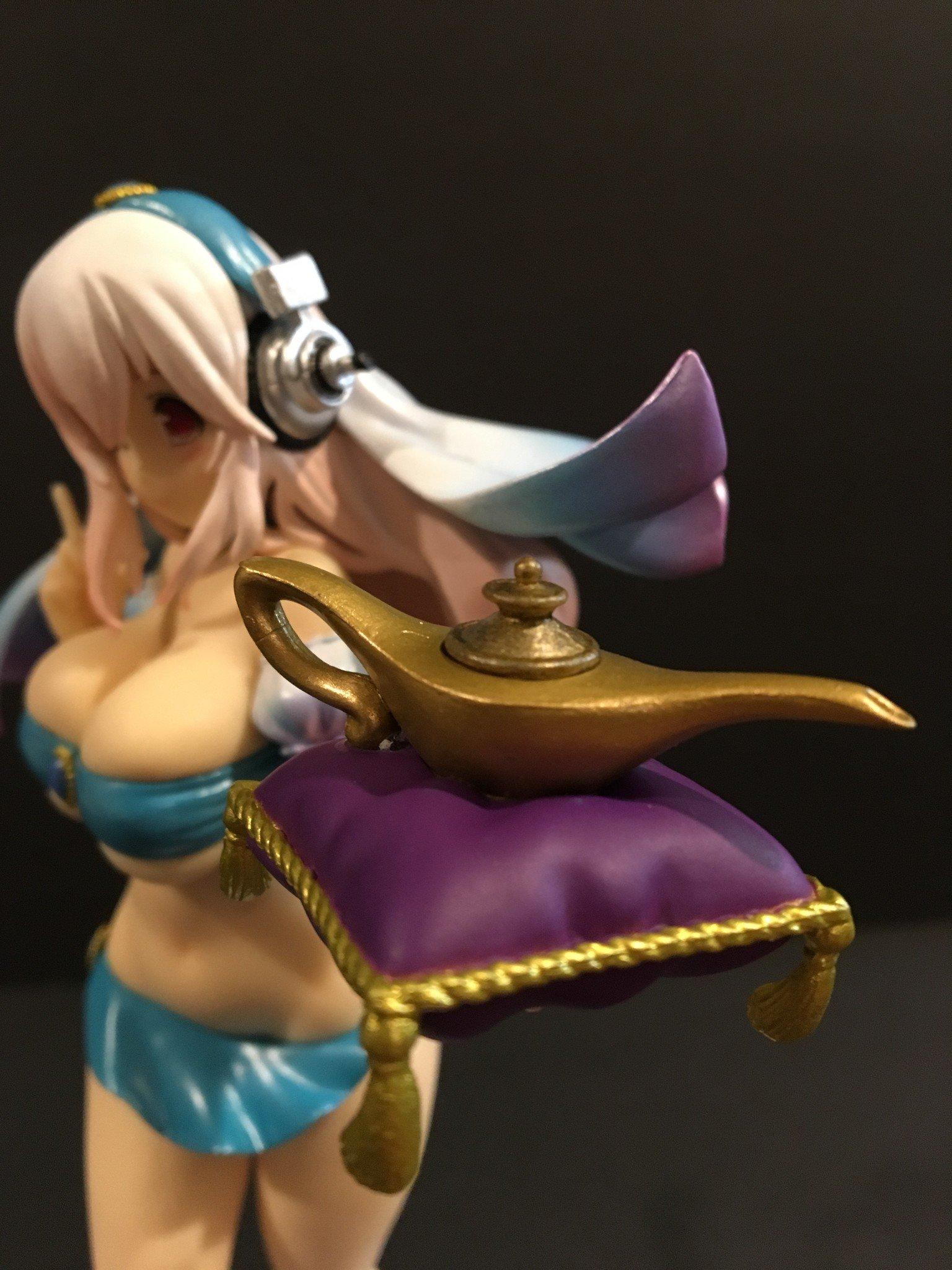 Super Sonico SSS Genie of The Lamp Fairy Tale Figure Furyu