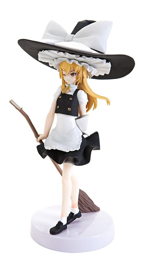 Touhou Project Kirisame Figure FuRyu UK Toho Project kirisame marisa anime figures animetal UK
