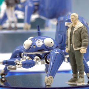 Ghost in the Shell Stand Alone Complex Tachikomans Tachi-Blue 1:24 Scale Action Figure with Batou anime figures UK animetal