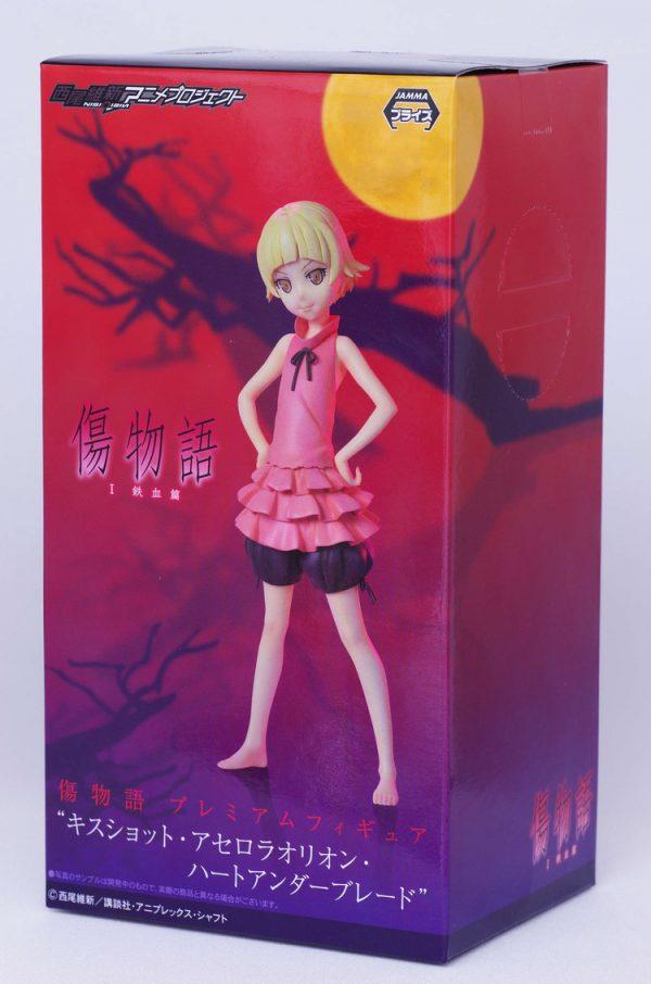 Kizumonogatari Kiss-shot Figure Childhood Ver. SEGA UK anime figures UK animetal