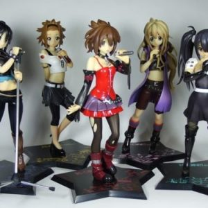 k-on Death Devil Figure Set Banpresto Ichiban Kuji lottery UK k-on figures k-on figure set k-on Yui figures k-on azusa nakano figures animetal anime figures