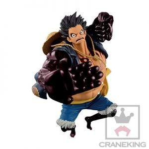 One Piece Monkey D Luffy Figure Gear Fourth Banpresto anime figures uk animetal