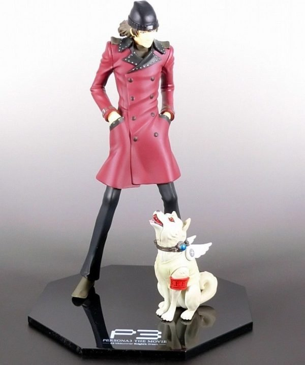 Persona 3 Figure Aragaki Shinjirou and Koromaru Persona 3 the Movie Midsummer Knight's Dream figure manufactured by sunny side up Happy Kuji Lottery Prize B