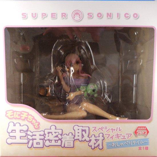 Super Sonico Figure Chatting Version FuRyu anime figures uk animetal