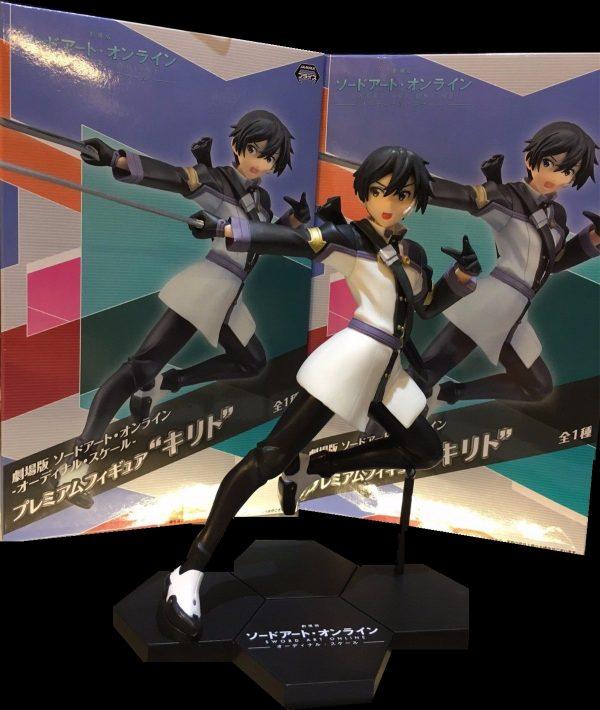 Sword Art Online Kirito Figure SEGA