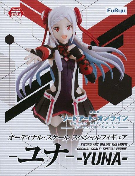 Sword Art Online Ordinal Scale Yuna Figure FuRyu anime figures uk animetal