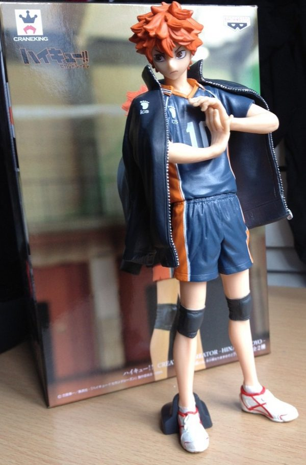 Haikyuu Hinata Shoyo Figure Creator x Creator Banpresto UK anime figures UK animetal