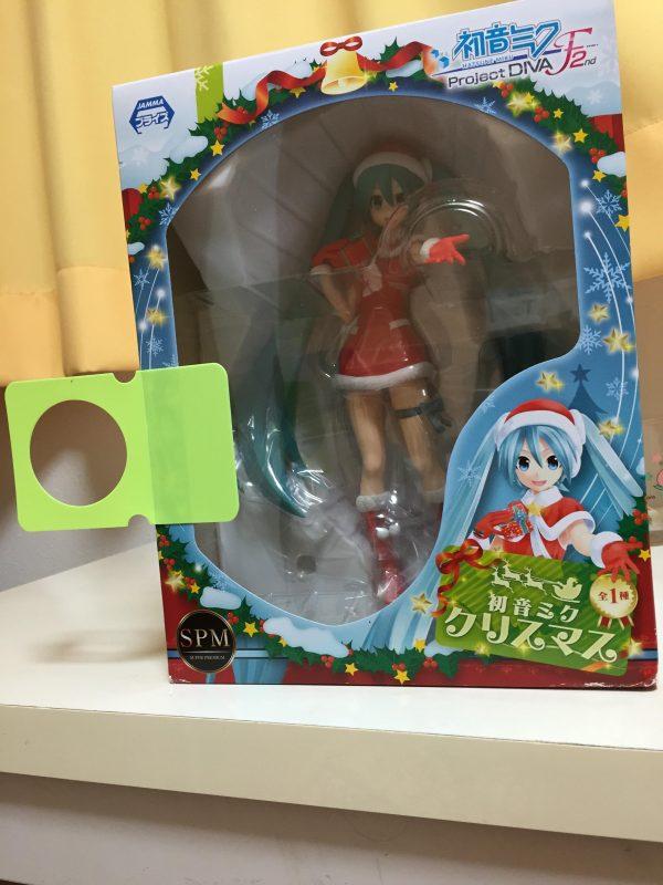 Vocaloid Hatsune Miku Figure Christmas SEGA uk anime figures UK animetal