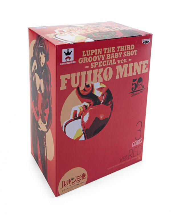 Lupin the Third Fujiko Mine Figure Red Version Banpresto UK anime figures UK animetal