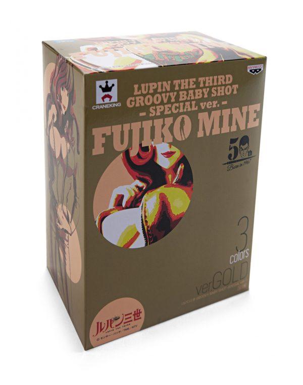 Lupin the Third Fujiko Mine Figure Gold Version Banpresto UK anime figures UK animetal