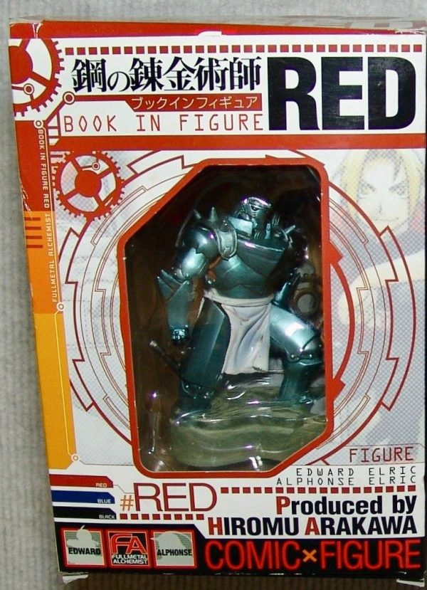 Fullmetal Alchemist Book in Figure Red Square Enix UK anime figures UK animetal