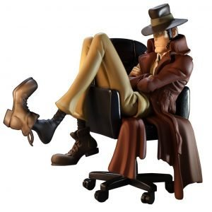 Lupin the Third Inspector Zenigata Figure Creator x Creator Banpresto Figure UK anime figures UK animetal