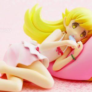 Monogatari Oshino Shinobu Donut Cushion Figure Taito UK monogatari anime figures UK animetal