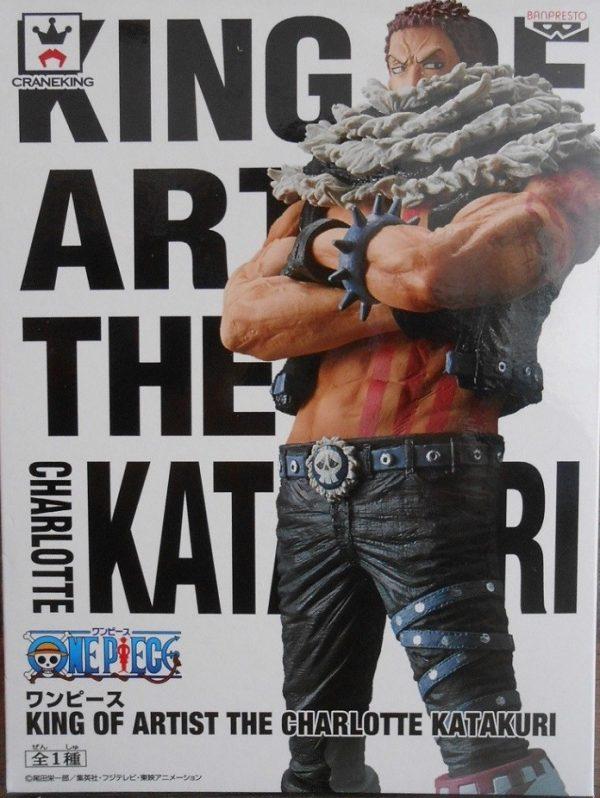 One Piece Charlotte Katakuri Figure King of Artist Banpresto UK one piece anime figures UK animetal