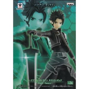 Sword Art Online Kirito Figure Fairy Dance Banpresto UK sword art online anime figures UK animetal