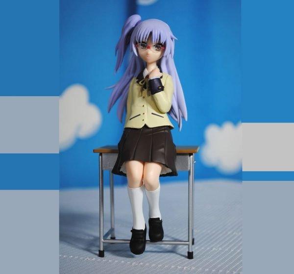 Angel Beats Tenshi Figure School Version FuRyu UK Angel Beats Tenshi School Uniform Version anime figures UK animetal