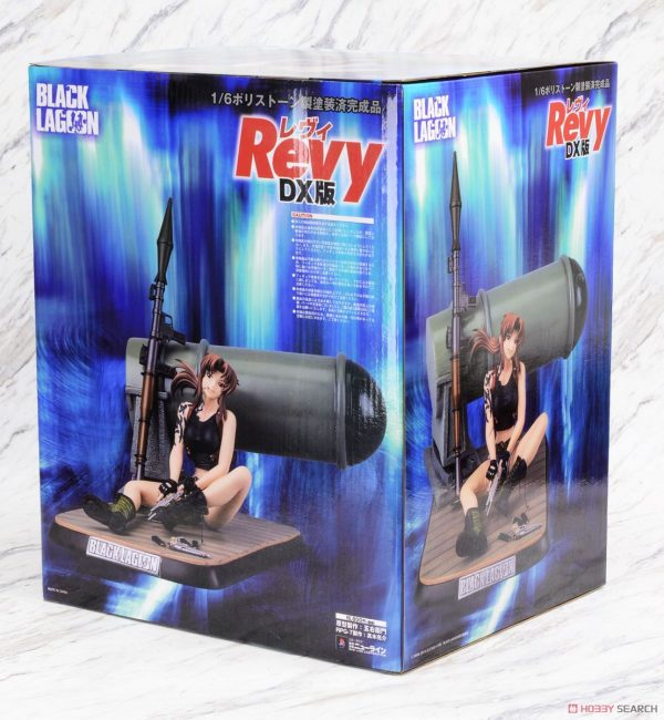 Black Lagoon Revy Figure 1:6 Scale New Line DX Edition anime figures UK animetal