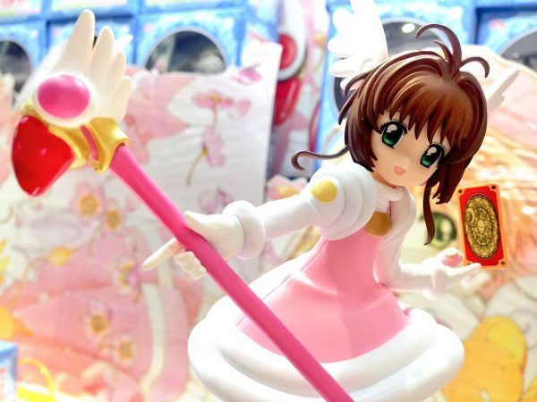 Cardcaptor Sakura Cheerful Pink Figure FuRyu UK Cardcaptor Sakura anime figures UK animetal