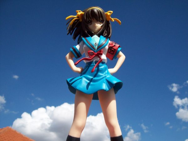 Melancholy of Haruhi Suzumiya Figure Summer Uniform SEGA UK anime figures UK animetal