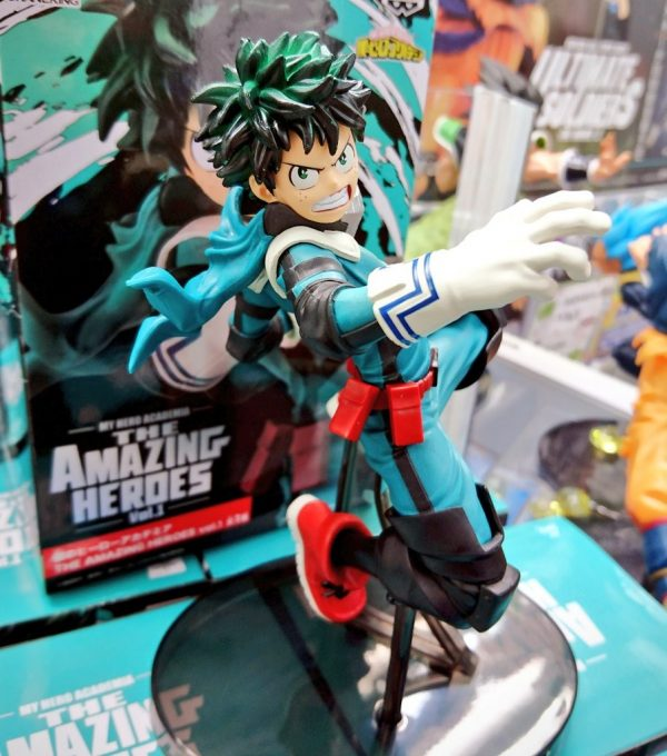 My Hero Academia Midoriya Izuku Figure Banpresto UK anime figures UK animetal