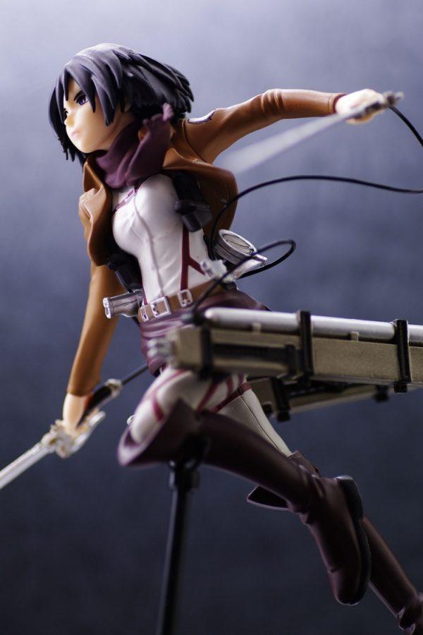 Attack on Titan Mikasa Figure SEGA UK anime figures UK animetal