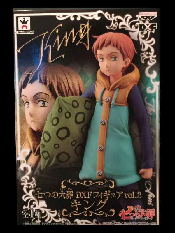 Seven Deadly Sins King Figure Banpresto UK anime figures UK animetal