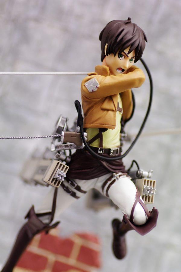 Attack on Titan Eren Figure FuRyu UK attack on titan anime figures UK animetal