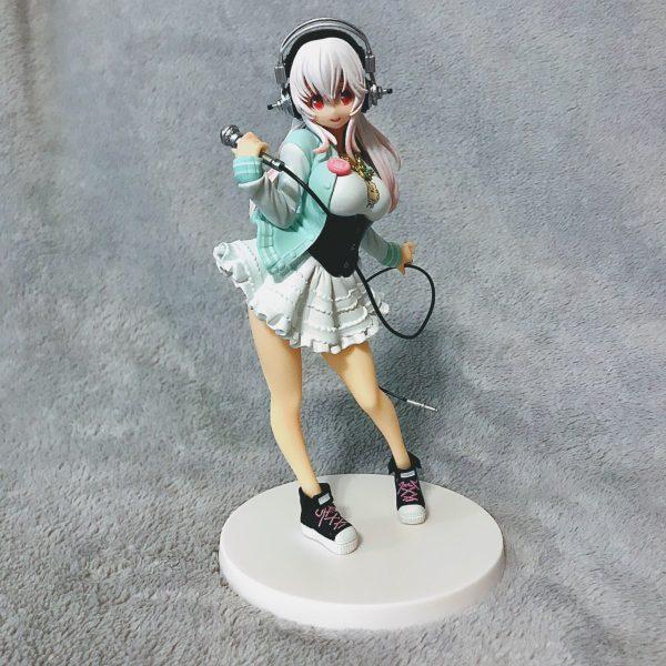 Super Sonico SQ Figure Banpresto UK anime figures UK animetal
