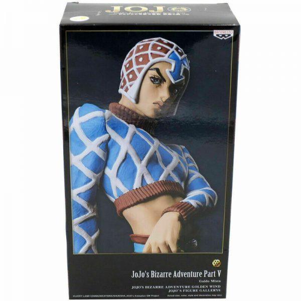 JoJo's Bizarre Adventure Guido Mista Figure Banpresto UK jojo anime figures UK animetal