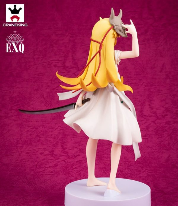 Monogatari Oshino Shinobu Katana Figure Banpresto UK monogatari anime figures UK animetal