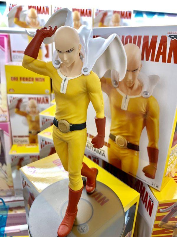 one punch man saitama figure banpresto UK anime figures UK animetal